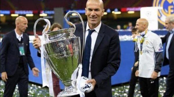 Zidane con la Champions