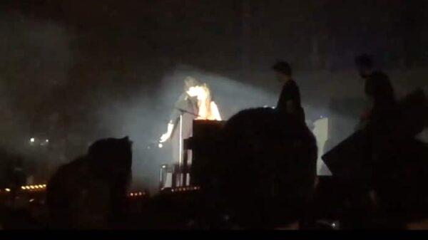 Alfred y Amaia en el concierto de 'OT' en Mallorca