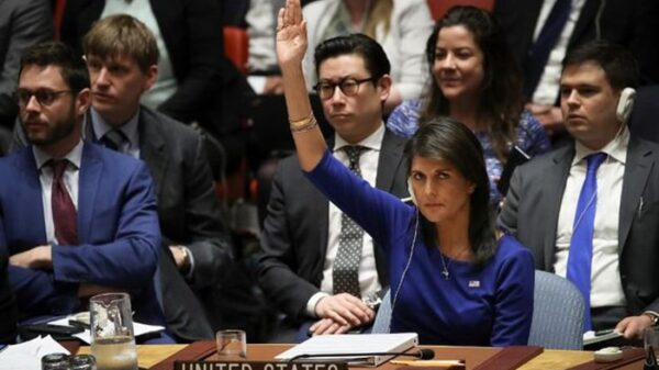 Nikki Haley, embajadora de la ONU
