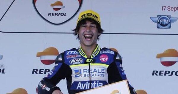 El motociclista Andreas Pérez