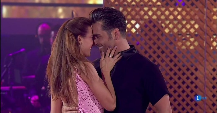 Bustamante y Yana en 'Bailandon con las estrellas'