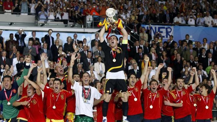 La Selección celebra la Eurocopa de 2008