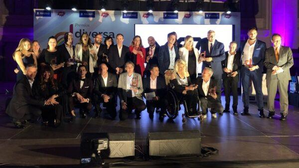 Todos los premiados con el galardón Diversa 2018
