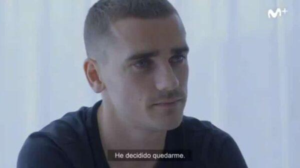 Antoine Griezmann en el documental 'La Decisión'