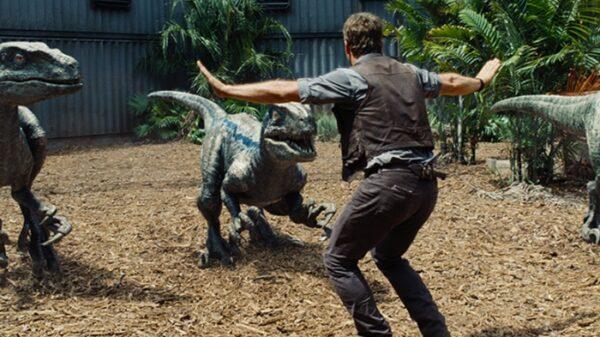 Un momento de 'Jurassic World'