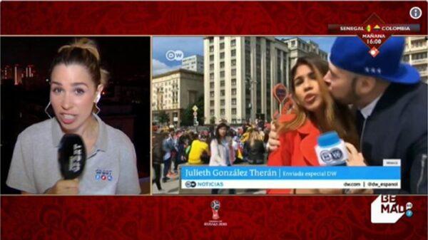 La periodista María Gómez, de Mediaset
