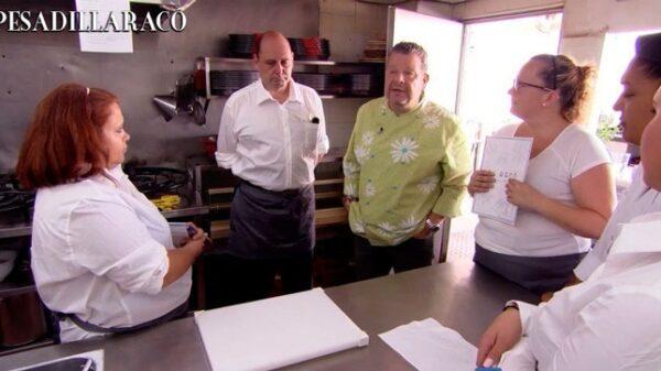 Chicote en 'Pesadilla en la cocina'