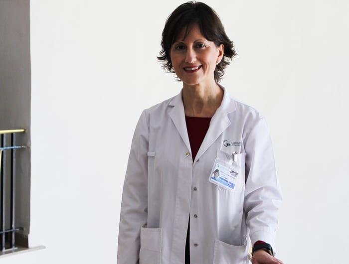 La Dra. Pilar Llamas