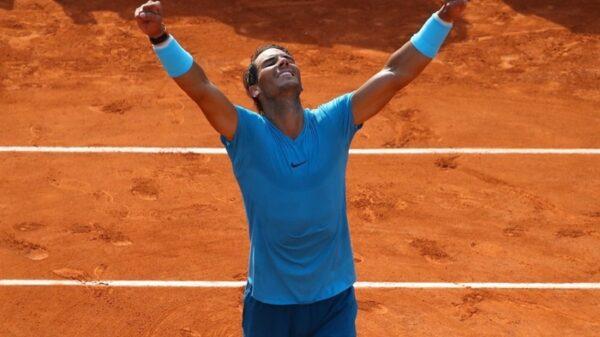 Rafa Nadal tras ganar Roland Garros