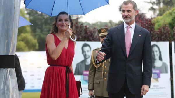 Los Reyes de España a su llegada a los Premios Princesa de Girona