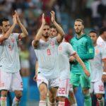 Selección española tras el debut contra Portugal
