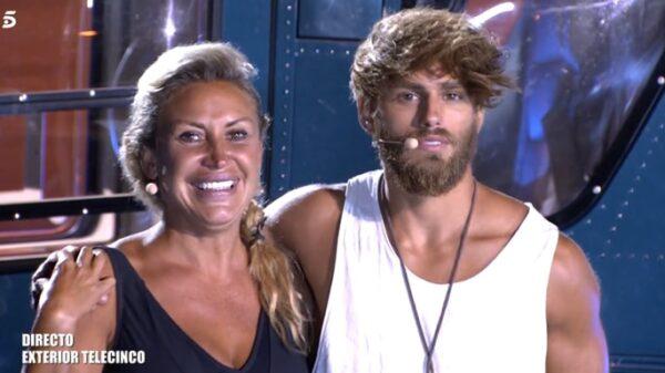 Raquel y Sergio en 'Supervivientes'