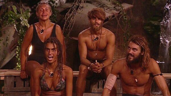 Los cuatro finalistas de 'Supervivientes'