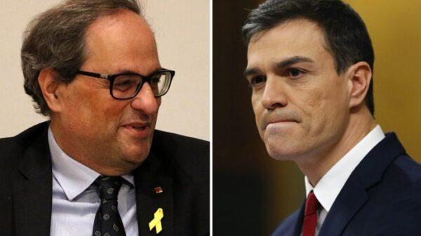 Quim Torra y Pedro Sánchez