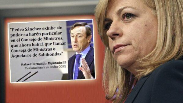 Elena Valenciano y la frase falsa atribuida a Rafael Hernando