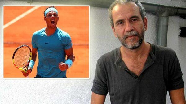 Willy Toledo y Rafa Nadal
