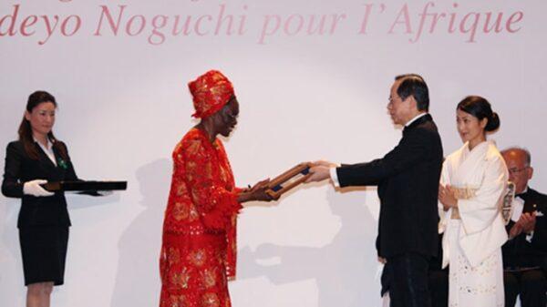 Entrega del premio Hideyo Noguchi de África 2018