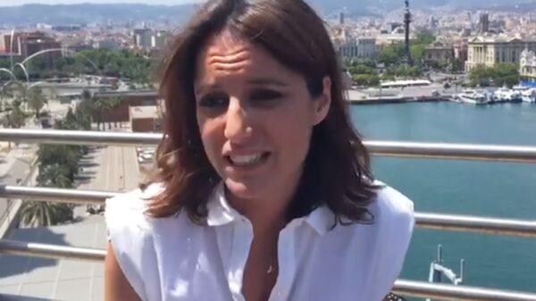 Andrea Levy en el vídeo en el que anuncia su apoyo a Pablo Casado
