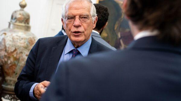 El ministro de asuntos Exteriores, UE y Cooperación, Josep Borrell