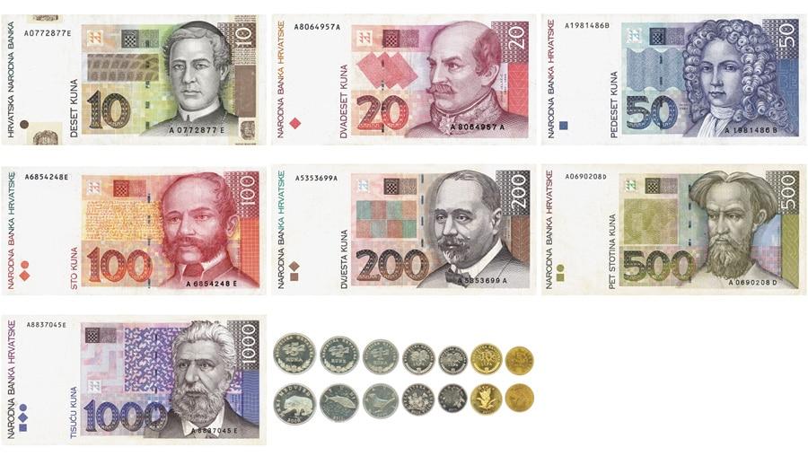La Kuna, la moneda oficial croata