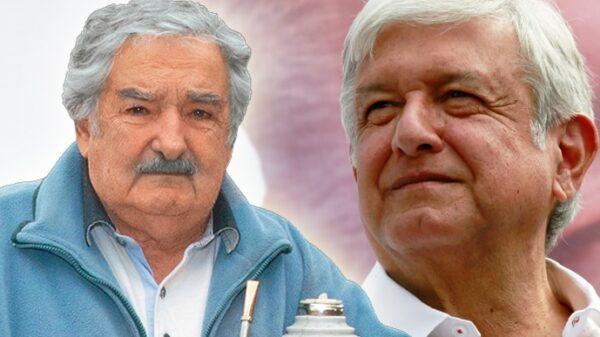 Andrés Manuel López Obrador y José Mujica