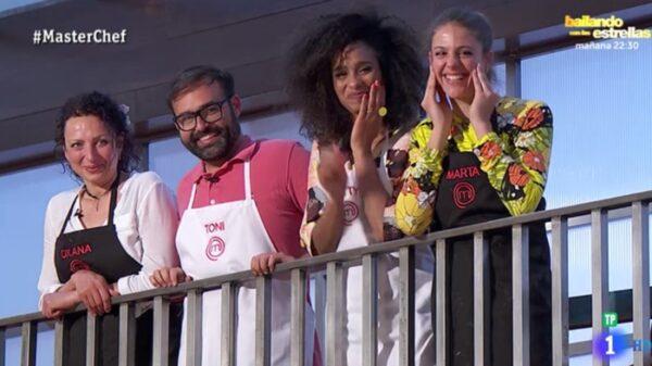 Los cuatro finalistas de 'Masterchef 6'