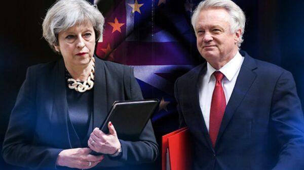 Theresa May y David Davis