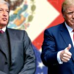 Andrés Manuel López Obrador y Donald Trump