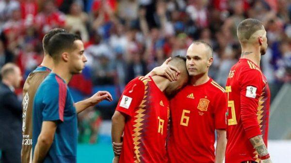 La Selección tras caer eliminada