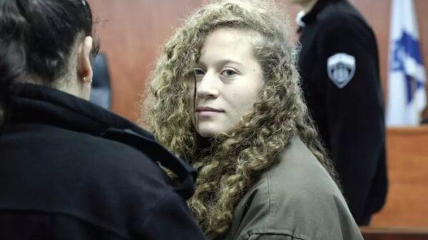 La adolescente Ahed Tamimi