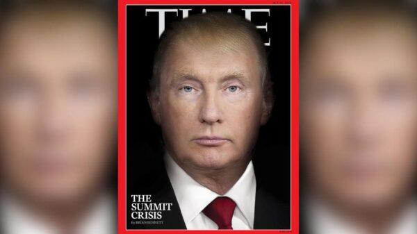 La portada del próximo número de la revista 'Time'