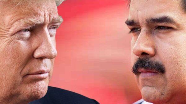 Donald Trump y Nicolás Maduro