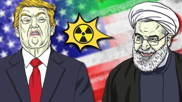 Donald Trump y Hasan Rohani