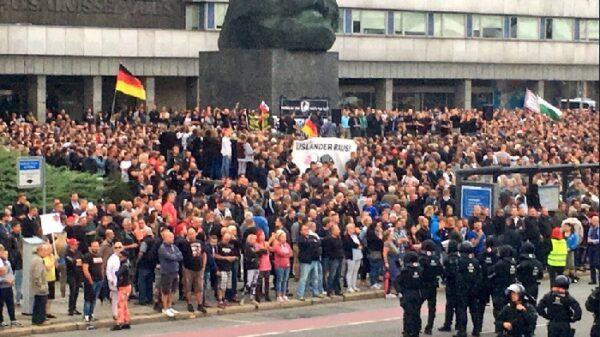 Enfrentamientos en la ciudad alemana de Chemnitz