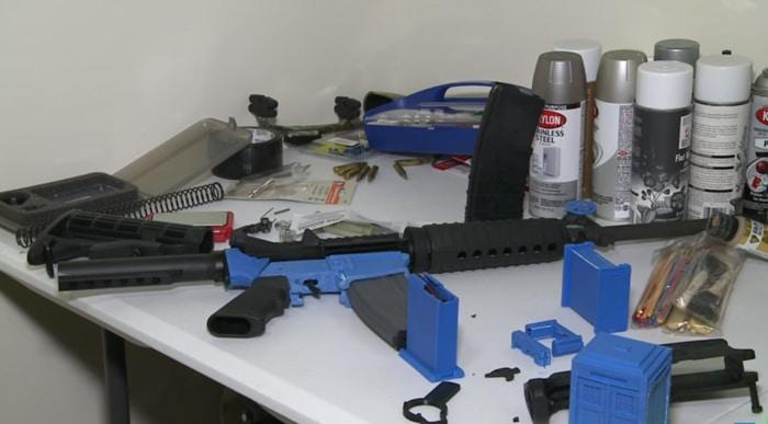Arma creada con una impresora 3D