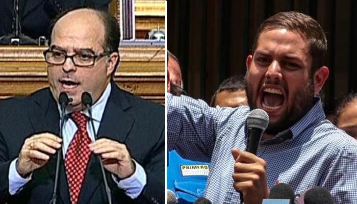 Julio Borges y Juan Requesens