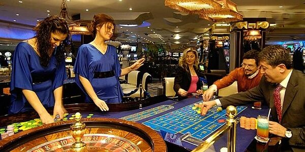 El casino Grand Rocksen en Kyrenia