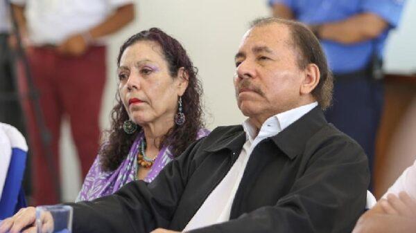 Daniel Ortega y Rosario Murillo, presidente y vicepresidenta de Nicaragua