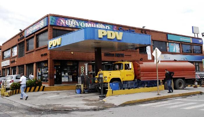Una gasolinera de Venezuela