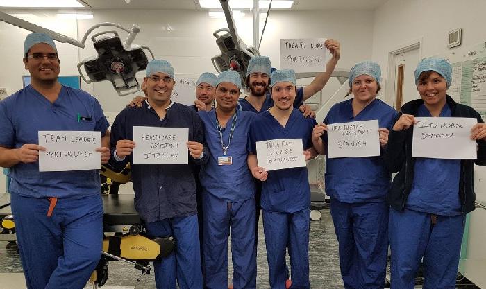 Médicos de otras nacionalidades que trabajan en Reino Unido