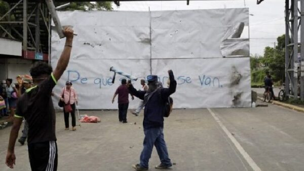 Revueltas en Nicaragua