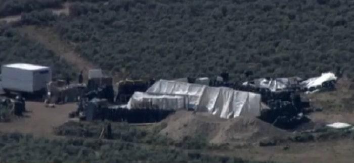El campamento de Nuevo México donde rescataron a 11 menores