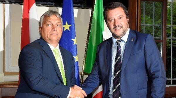 Viktor Orbán y Matteo Salvini
