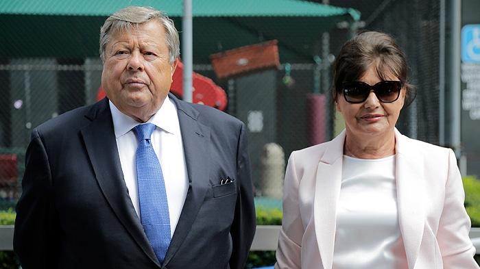 Víctor y Amalija Knavs, suegros de Donald Trump