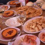 Tapas en un restaurante de Sanlúcar de Barrameda (Cádiz)