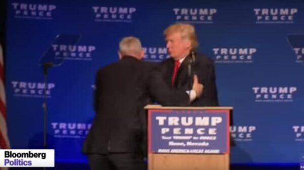 Trump en un intento de ataque