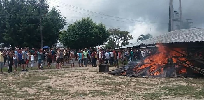 Disturbios en la frontera con Venezuela