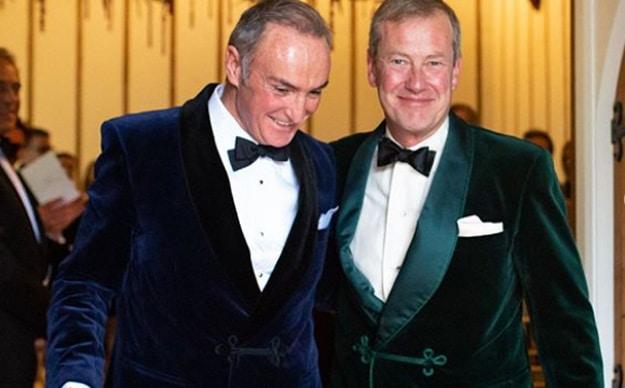 Lord Ivar Mountbatten y James Coyle