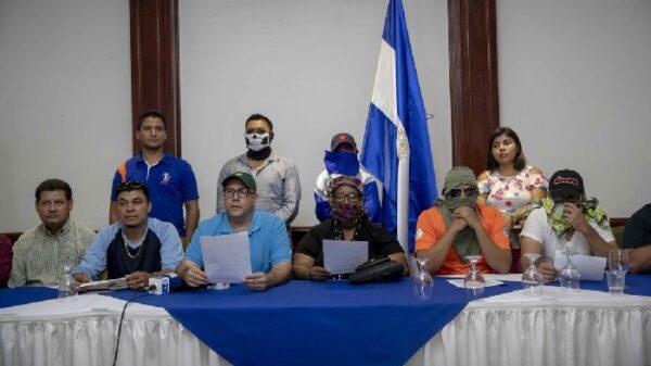 Miembros de la Alianza Democrática Nicaragüense