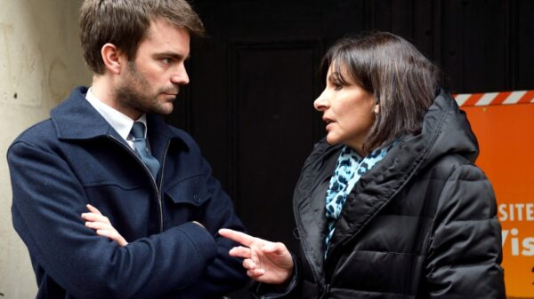 Bruno Julliard y Anne Hidalgo